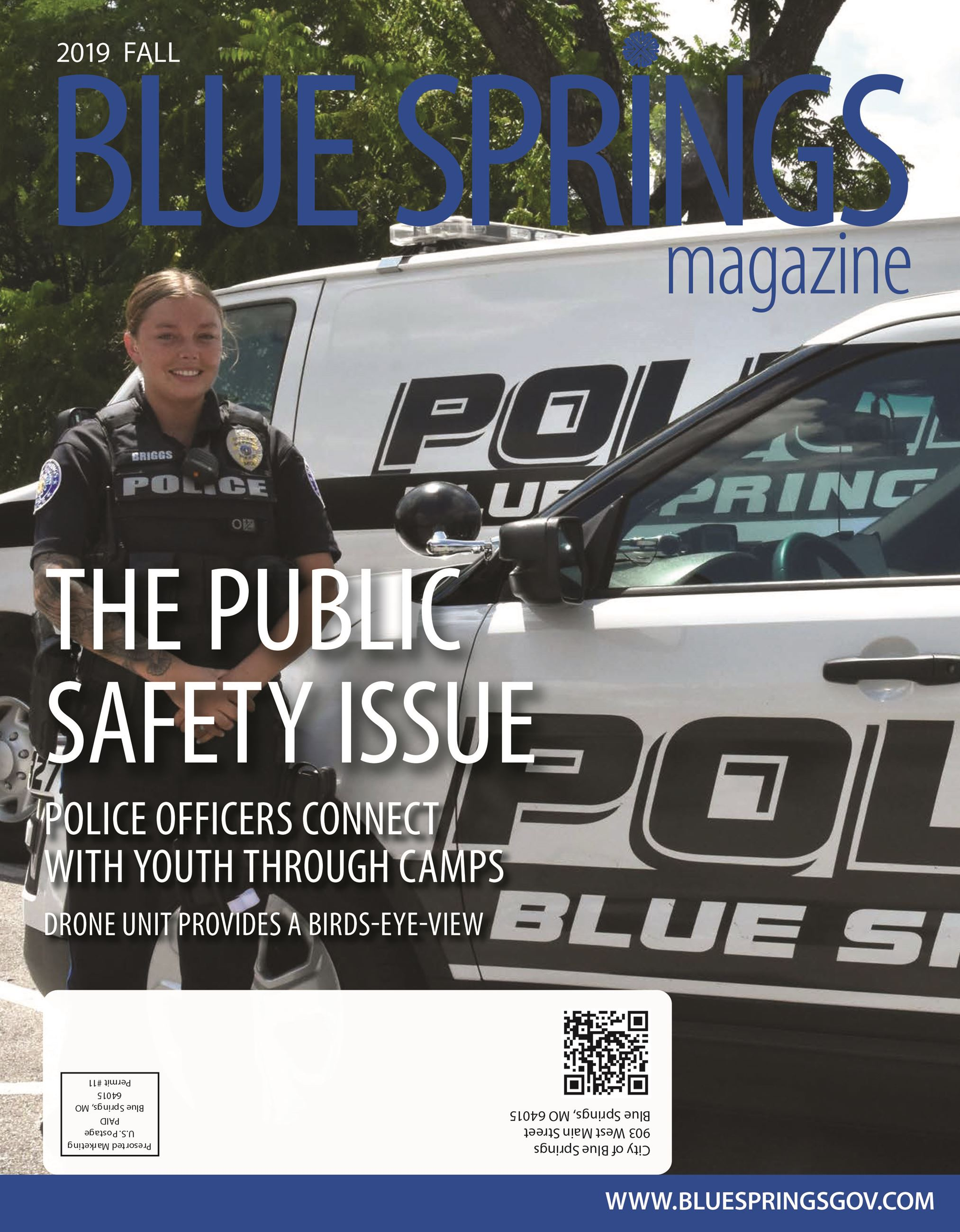 Blue Springs Magazine-Fall 2019 cover