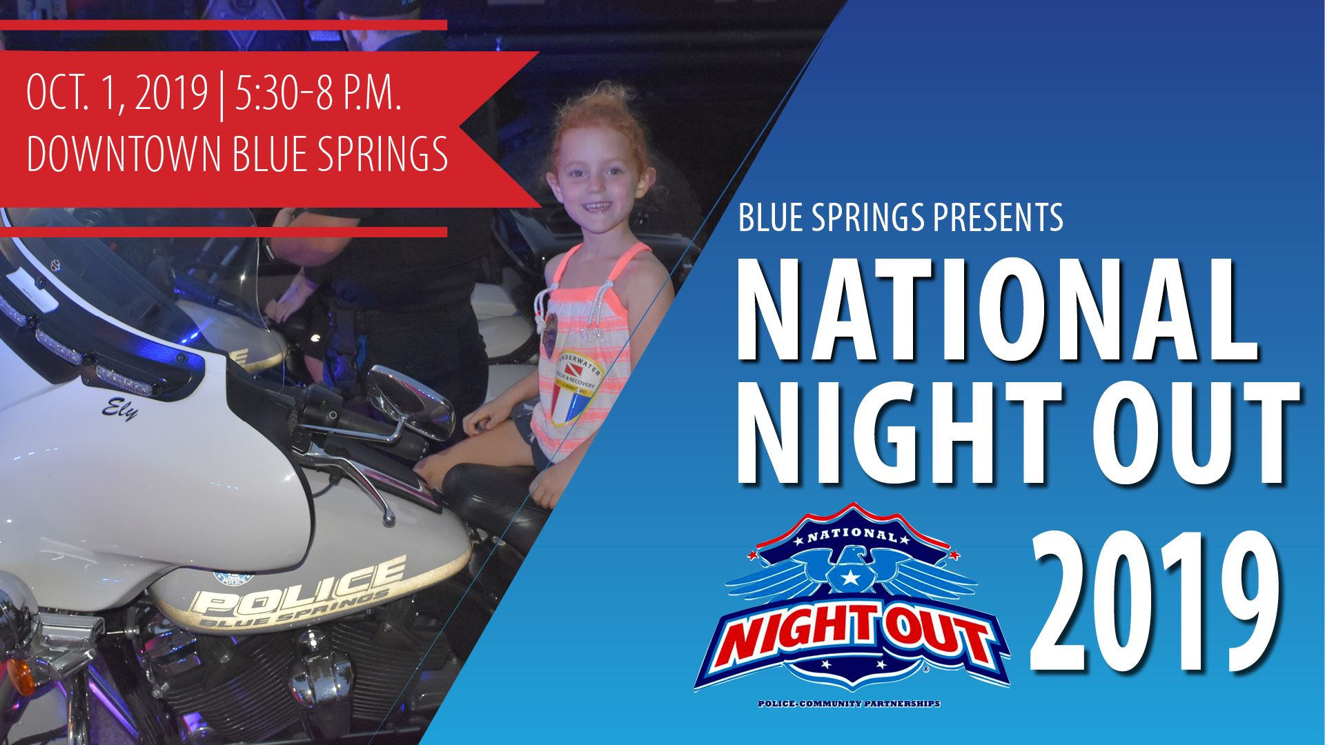 National Night Out Oct. 1, 2019