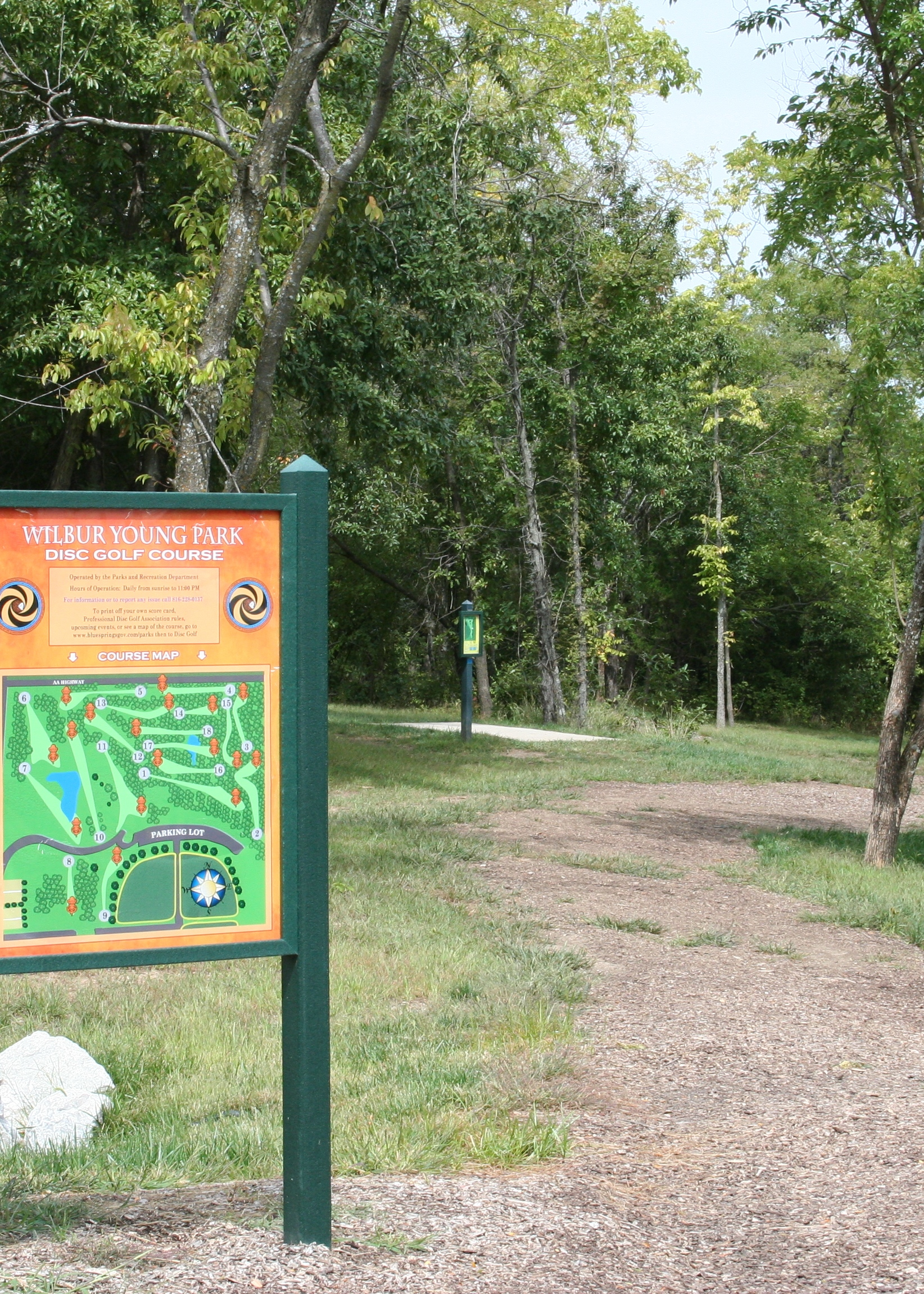 young park disc golf course