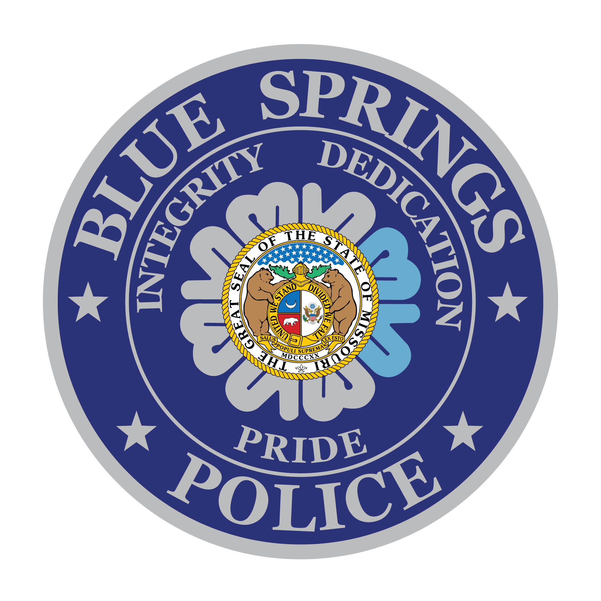 Blue Springs Police Department Logo